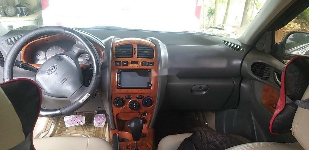 Bán ô tô Hyundai Santa Fe đời 2003, màu đen chính chủ (6)