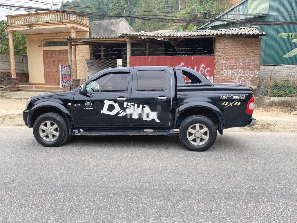 Bán Isuzu Dmax năm 2007, màu đen, xe nhập  (3)