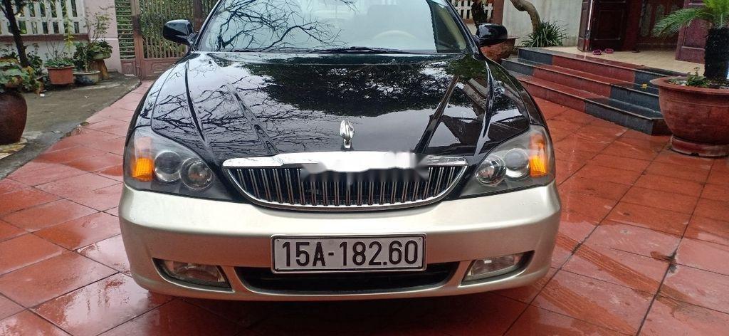 Cần bán lại xe Daewoo Magnus đời 2004, màu đen, 125tr (5)