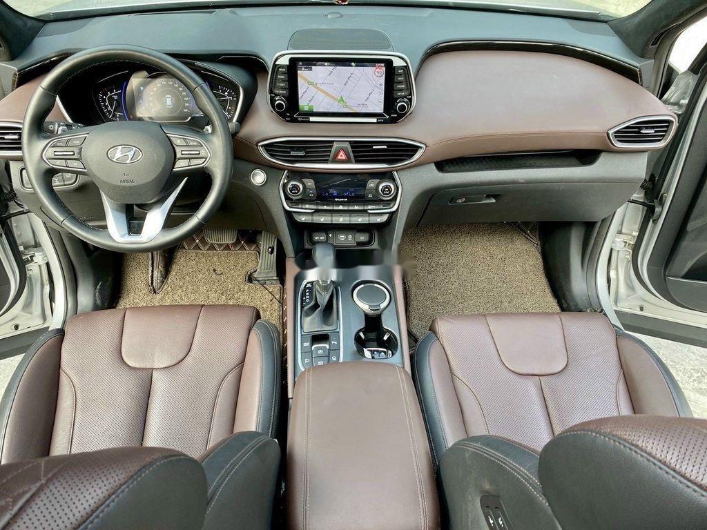 Cần bán gấp Hyundai Santa Fe 2019, màu bạc (12)