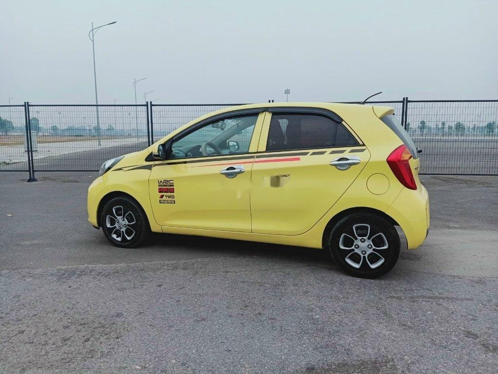 Xe Kia Morning năm 2015, màu vàng (1)