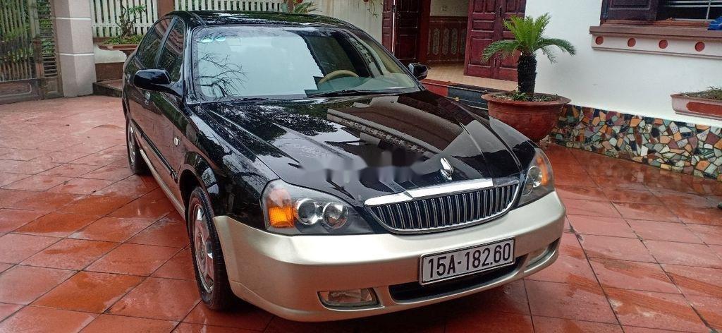 Cần bán lại xe Daewoo Magnus đời 2004, màu đen, 125tr (8)