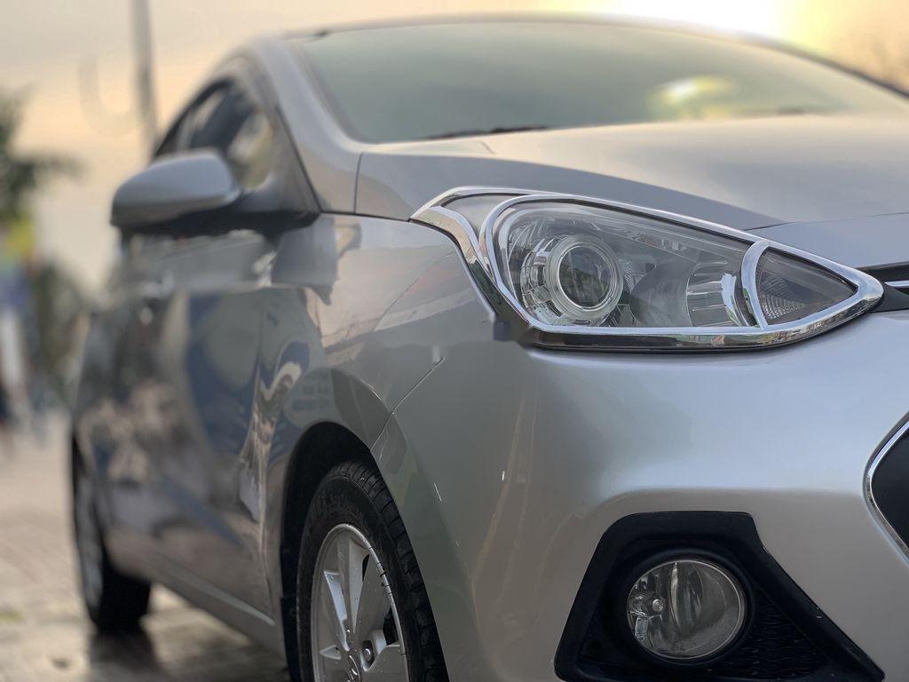 Bán xe Hyundai Grand i10 đời 2015, màu bạc, nhập khẩu  (5)