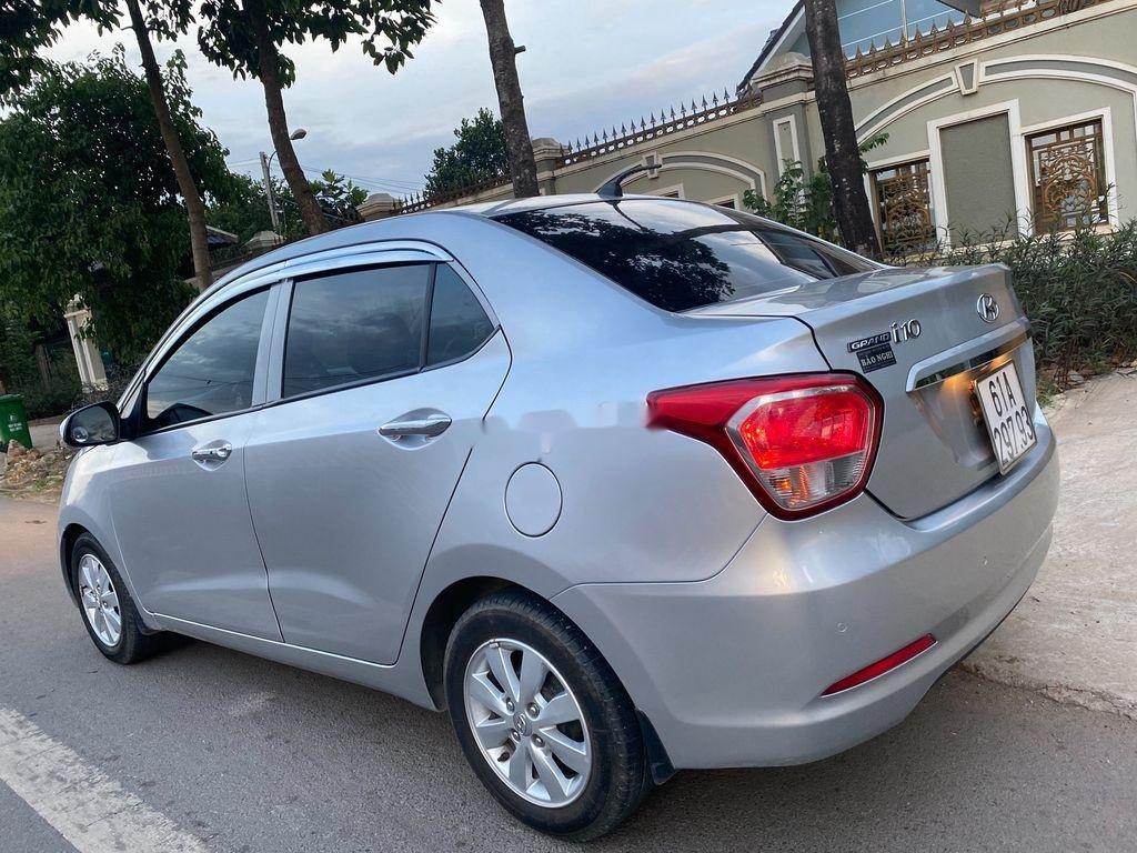 Cần bán xe Hyundai Grand i10 đời 2016, màu bạc, xe nhập  (5)
