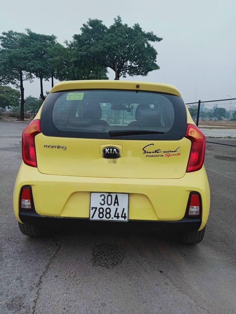 Xe Kia Morning năm 2015, màu vàng (3)
