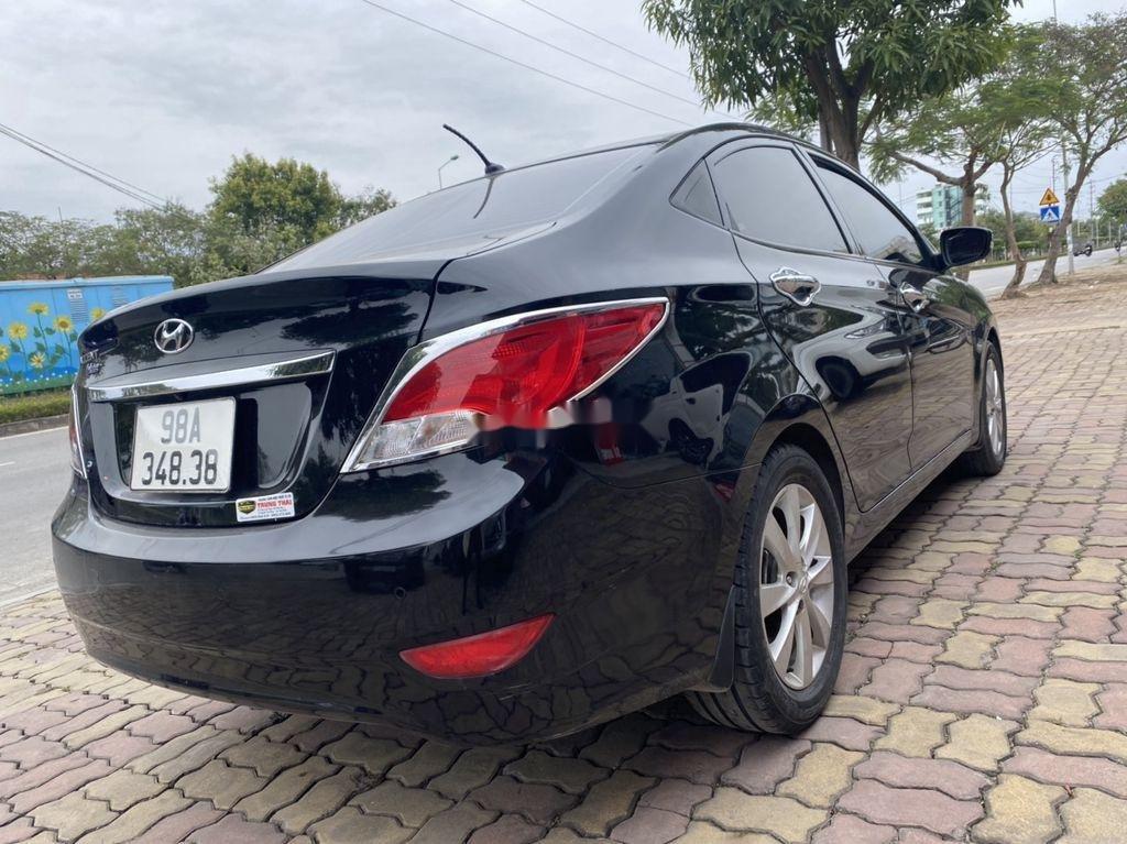 Bán Hyundai Accent đời 2016, màu đen, nhập khẩu  (5)