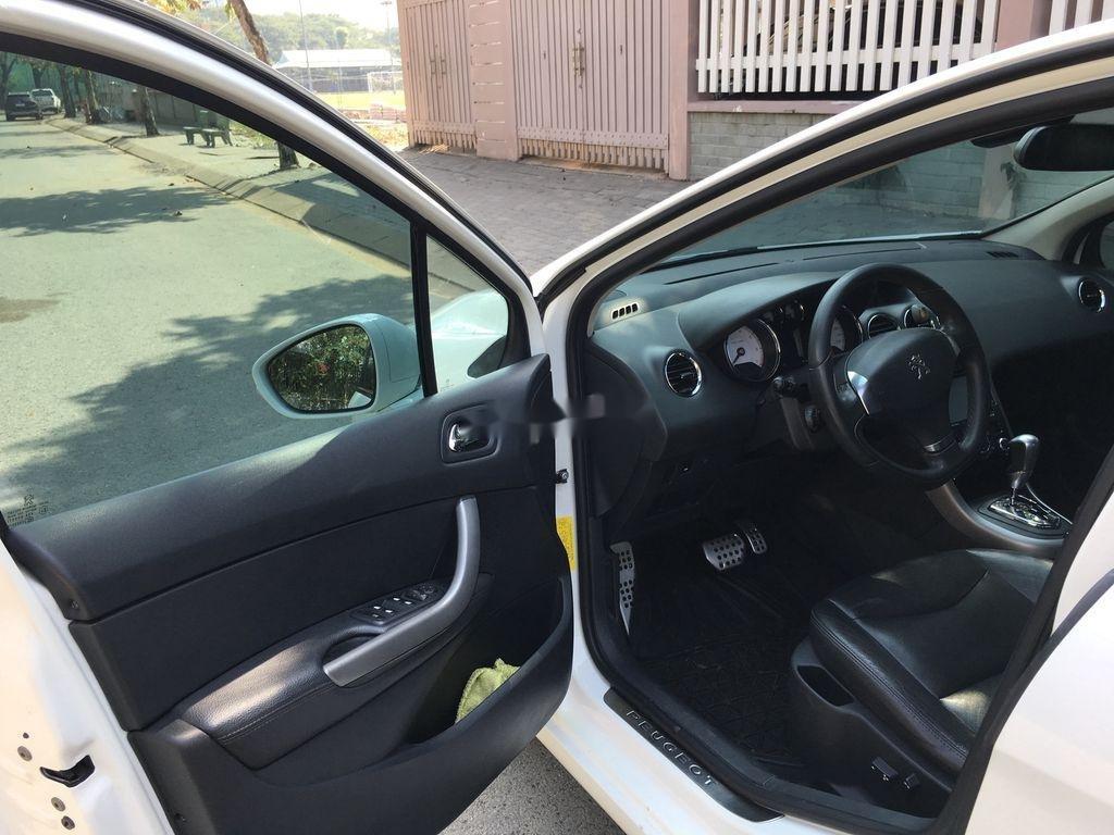Cần bán lại xe Peugeot 408 sản xuất 2014, màu trắng ít sử dụng (6)