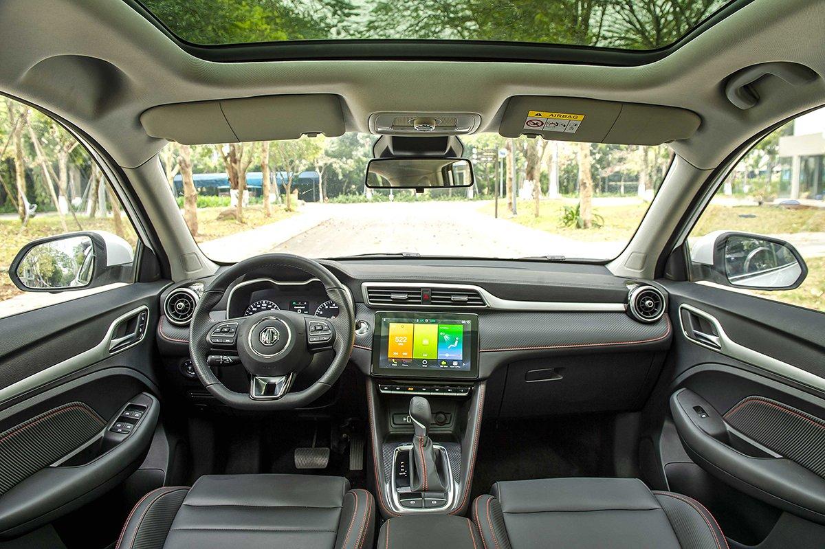 Nội thất xe MG ZS 2021