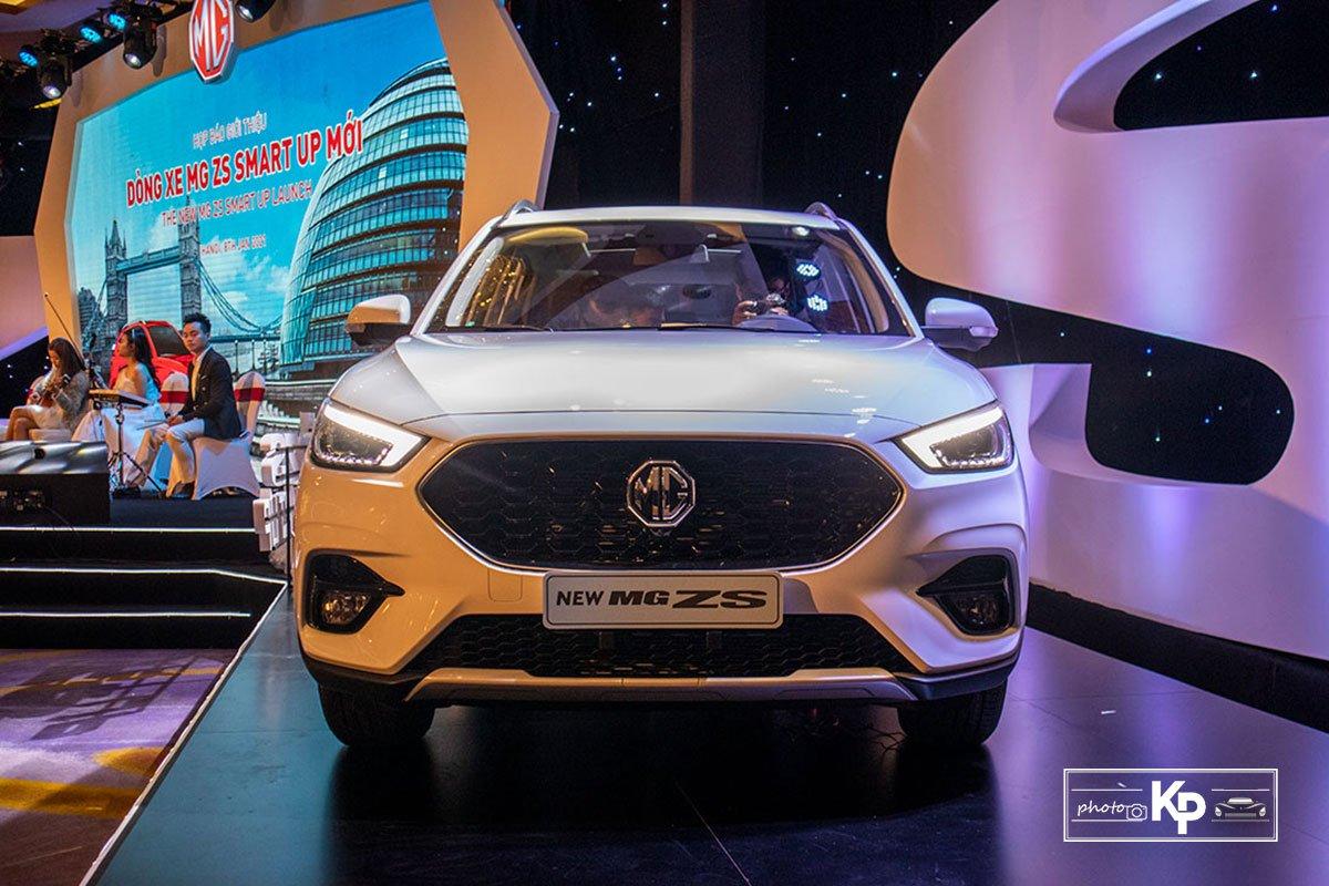 Ảnh Đầu xe xe MG ZS 2021 trắng