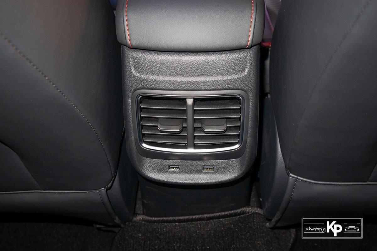 Ảnh Cửa gió xe MG ZS 2021 đỏ a1