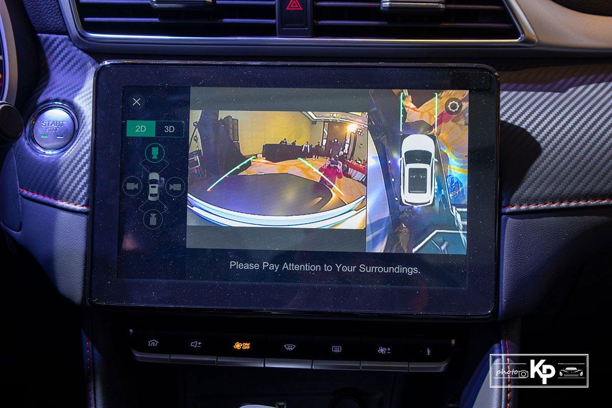 Ảnh Camera xe MG ZS 2021 đỏ