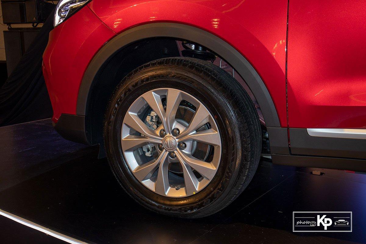 Ảnh La-zăng xe MG ZS 2021 đỏ