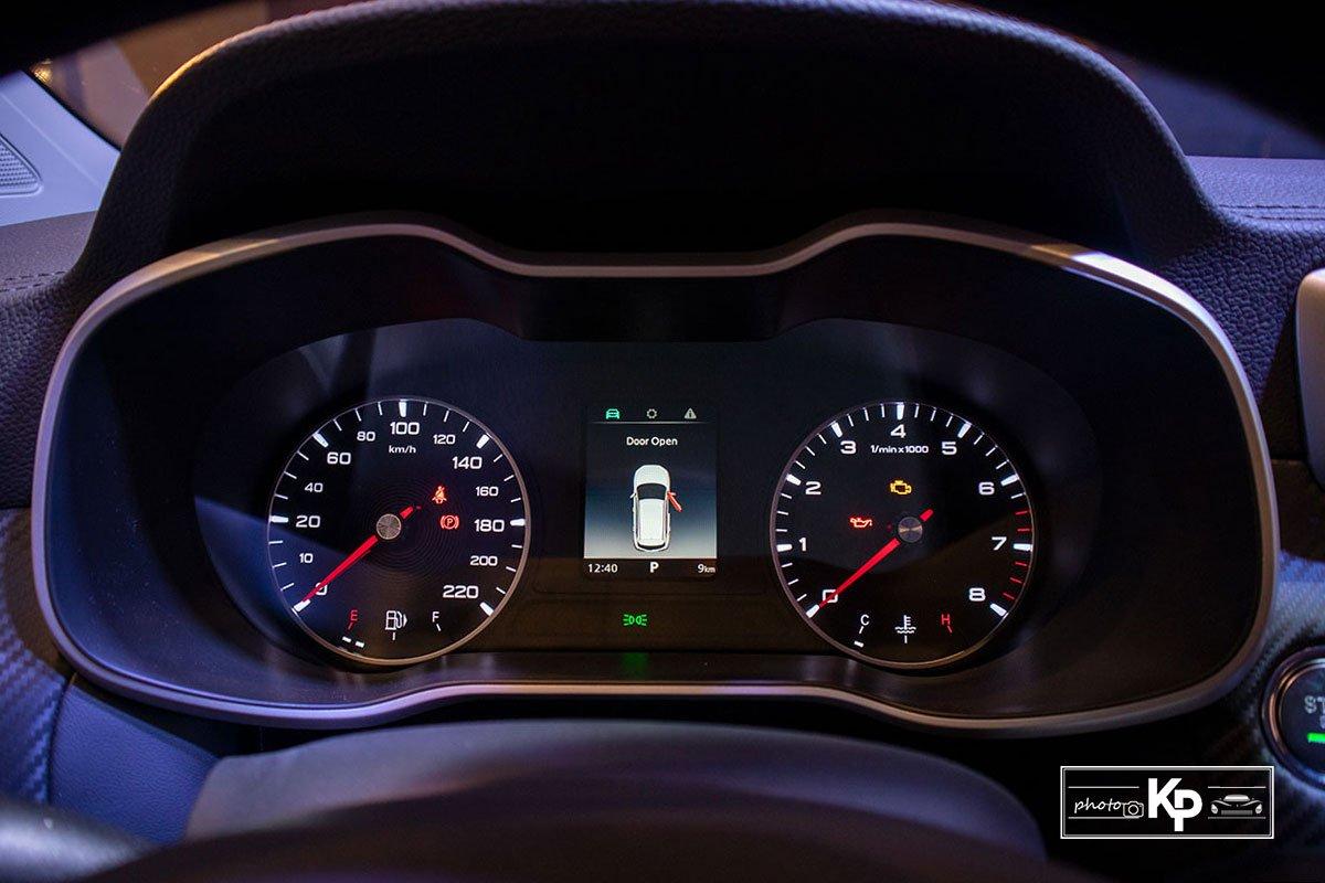 Ảnh Đồng hồ xe MG ZS 2021 đỏ a1