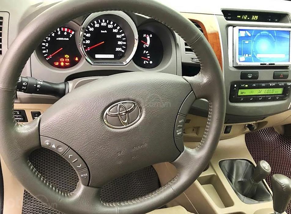 Bán ô tô Toyota Fortuner sản xuất năm 2011, màu bạc còn mới, giá 450tr (4)