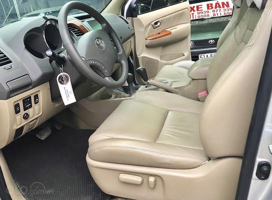 Bán ô tô Toyota Fortuner sản xuất năm 2011, màu bạc còn mới, giá 450tr (3)