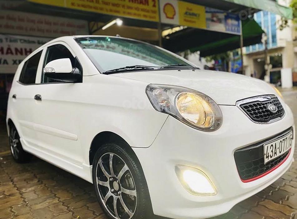 Bán Kia Morning sản xuất 2010, màu trắng còn mới (1)
