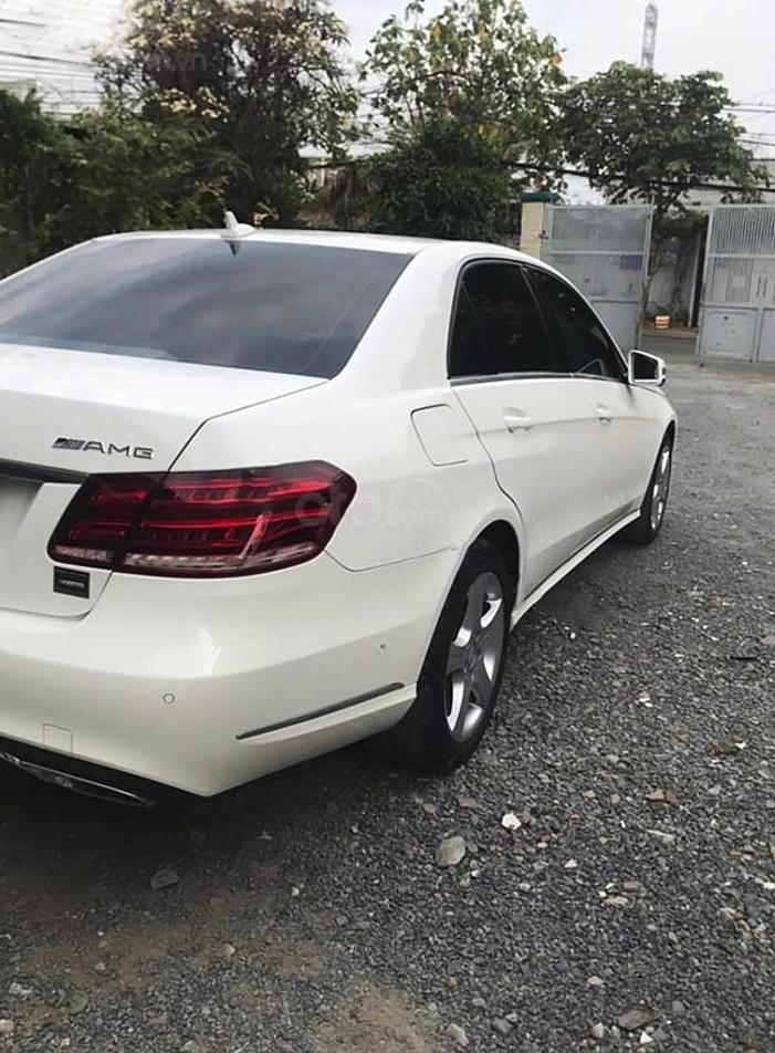 Bán Mercedes E class sản xuất năm 2014, màu trắng còn mới (4)