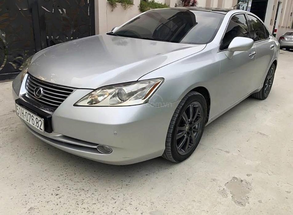 Cần bán lại xe Lexus ES350 sản xuất năm 2008, màu bạc, nhập khẩu (1)