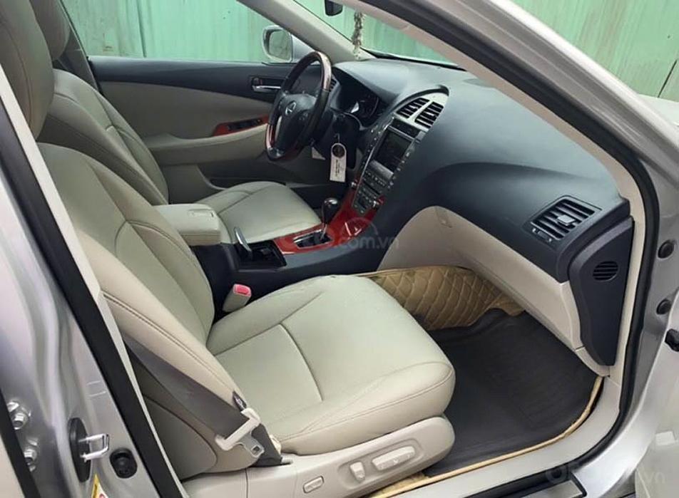 Cần bán lại xe Lexus ES350 sản xuất năm 2008, màu bạc, nhập khẩu (3)