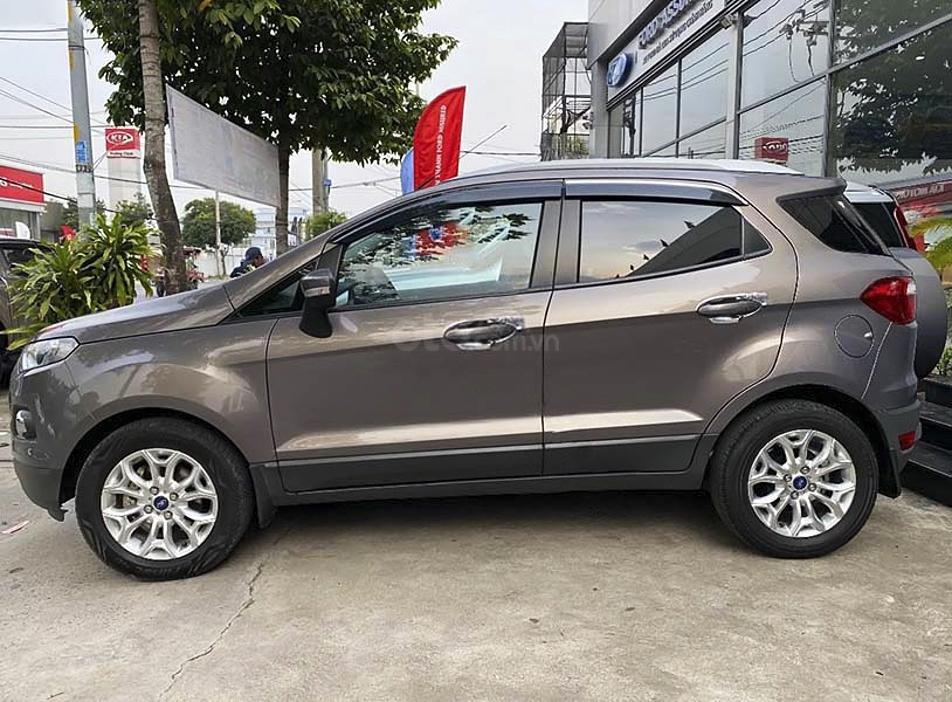 Bán xe Ford EcoSport đời 2015, màu xám còn mới (1)