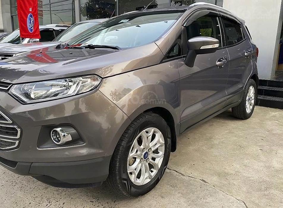Bán xe Ford EcoSport đời 2015, màu xám còn mới (3)