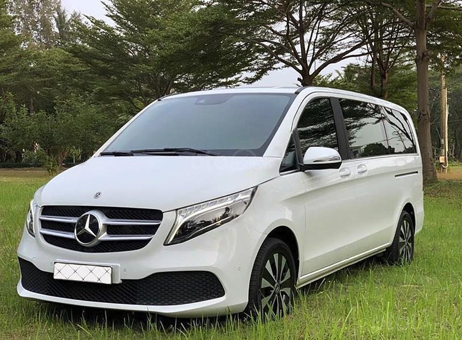 Bán Mercedes V Class sản xuất 2019, màu trắng, nhập khẩu nguyên chiếc còn mới (5)