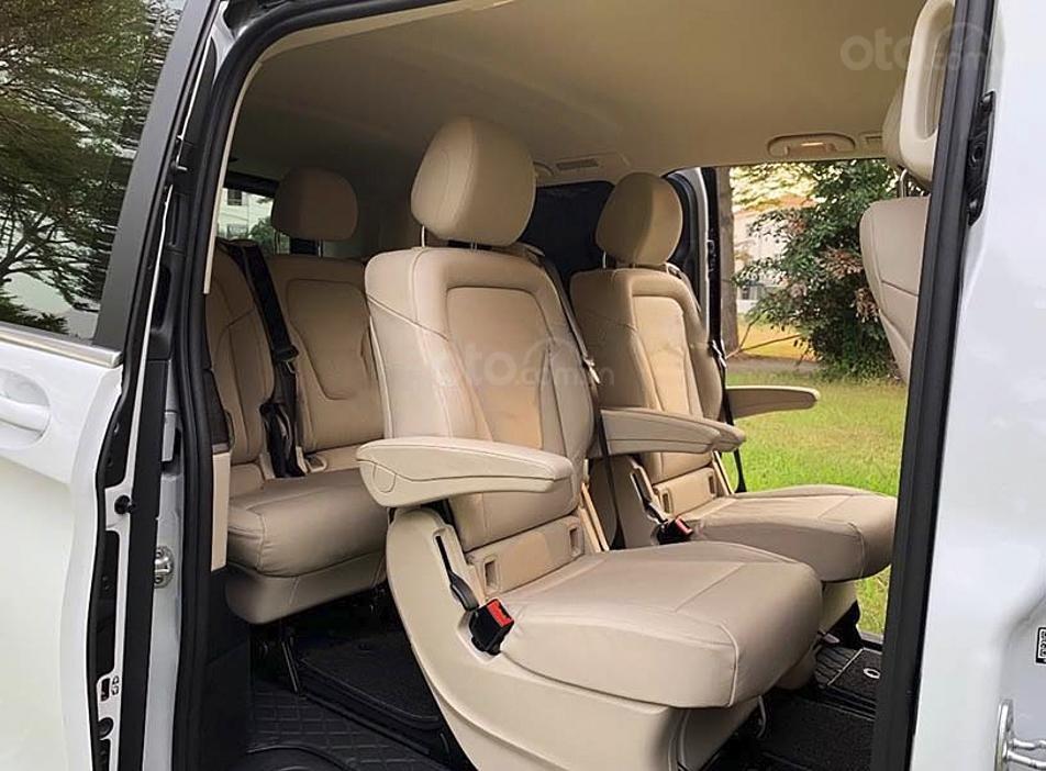 Bán Mercedes V Class sản xuất 2019, màu trắng, nhập khẩu nguyên chiếc còn mới (3)