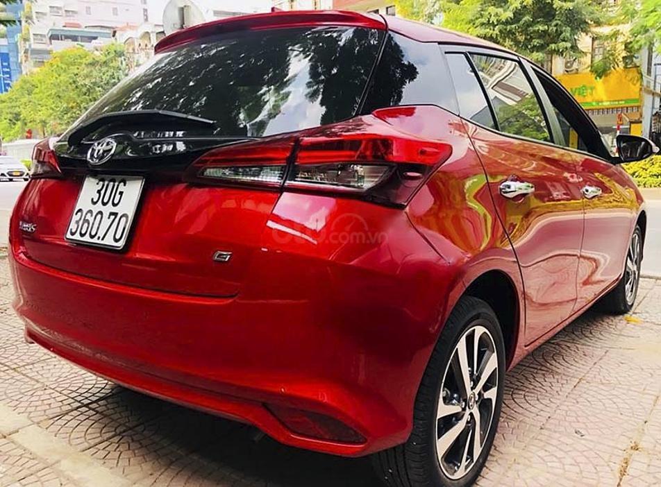 Bán Toyota Yaris sản xuất năm 2020, màu đỏ, nhập khẩu còn mới, 695tr (1)