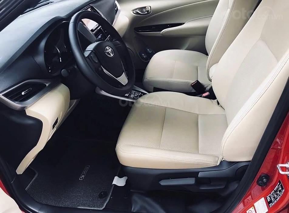 Bán Toyota Yaris sản xuất năm 2020, màu đỏ, nhập khẩu còn mới, 695tr (4)
