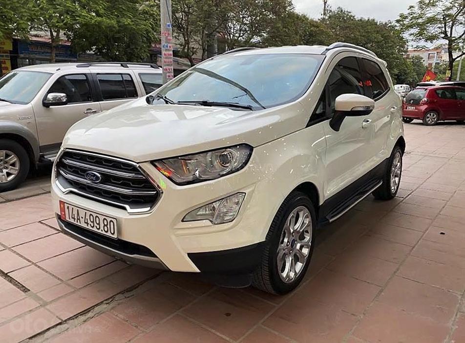Bán Ford EcoSport năm sản xuất 2020, màu trắng còn mới (4)
