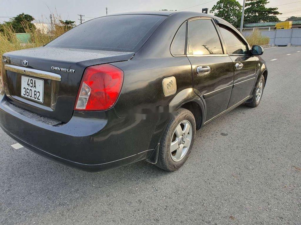 Cần bán lại xe Daewoo Lacetti sản xuất năm 2008, màu đen (9)