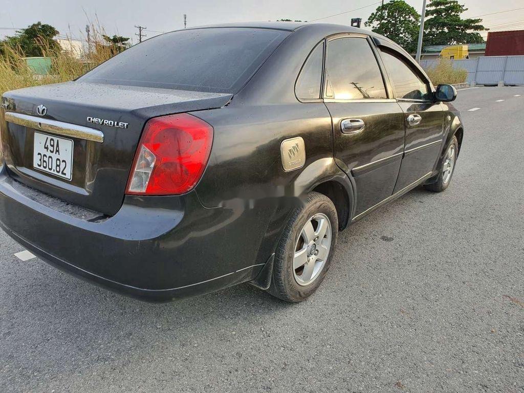 Cần bán lại xe Daewoo Lacetti sản xuất năm 2008, màu đen (8)