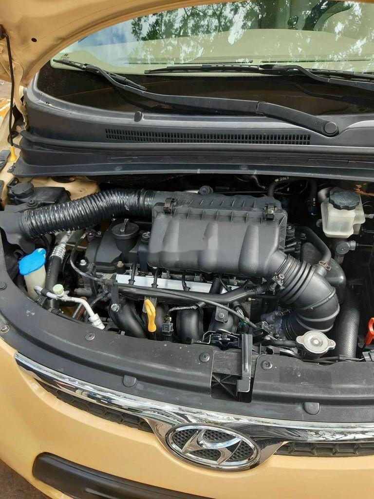 Bán Hyundai Grand i10 sản xuất năm 2010, màu vàng, nhập khẩu (6)