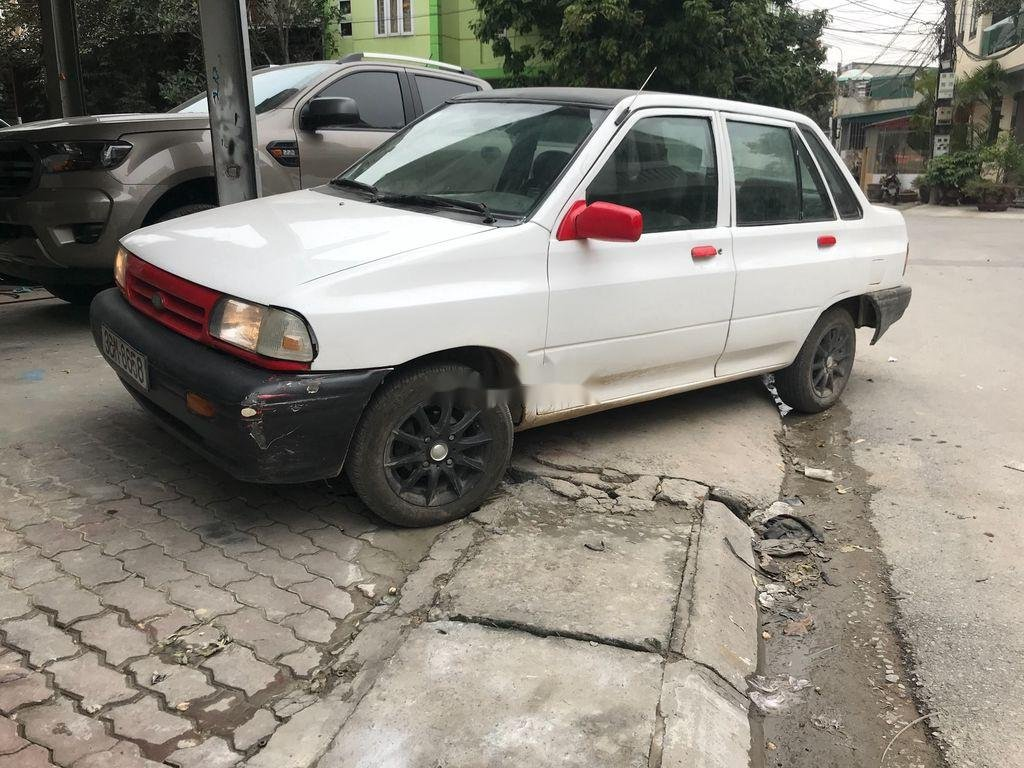 Bán xe Kia Pride đời 1999, màu trắng, giá tốt (1)