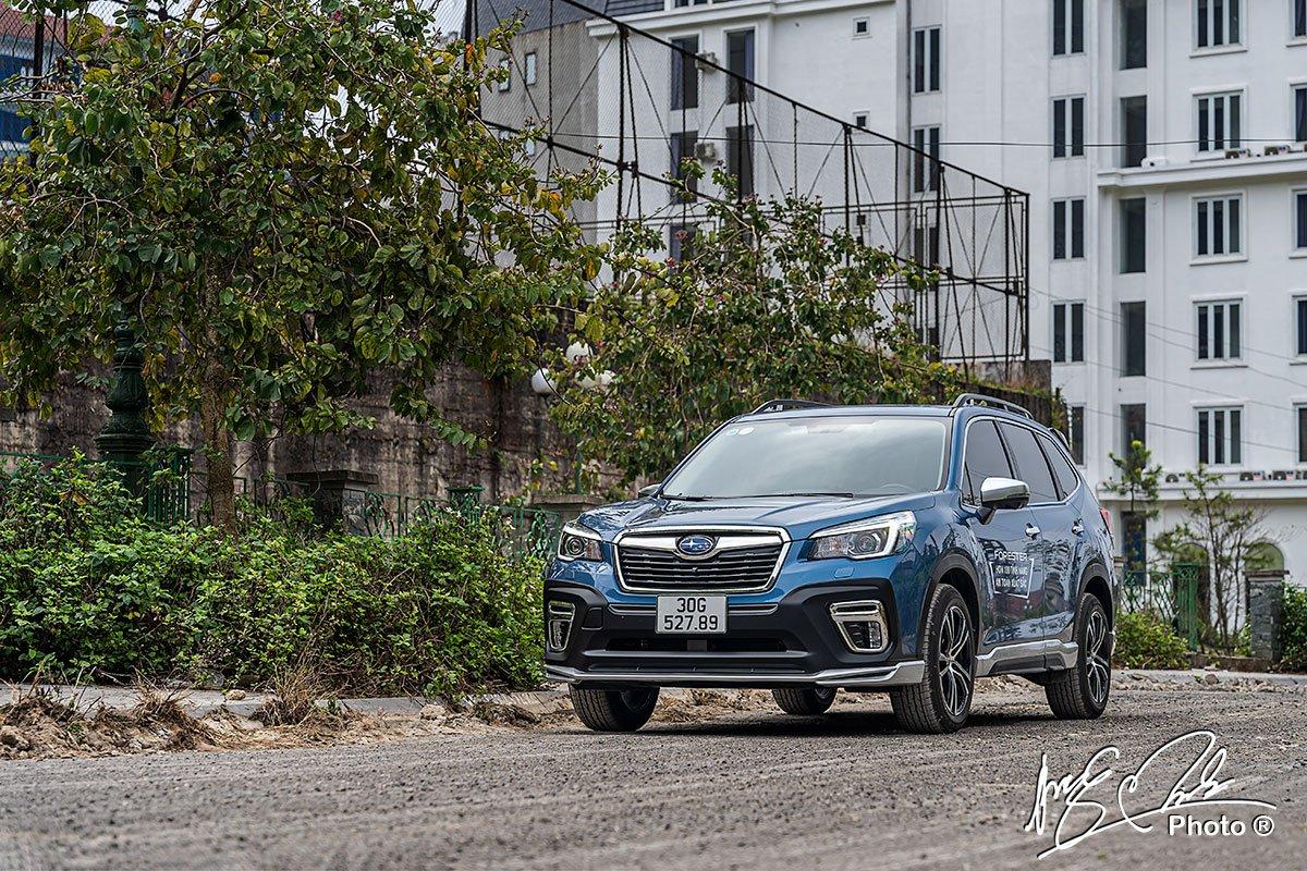 đánh giá xe Subaru Forester 2021.