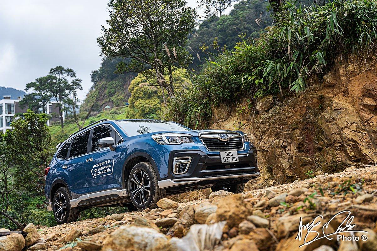 Subaru Forester 2021 là một sự lựa chọn tốt cho những ai thích trải nghiệm lái.