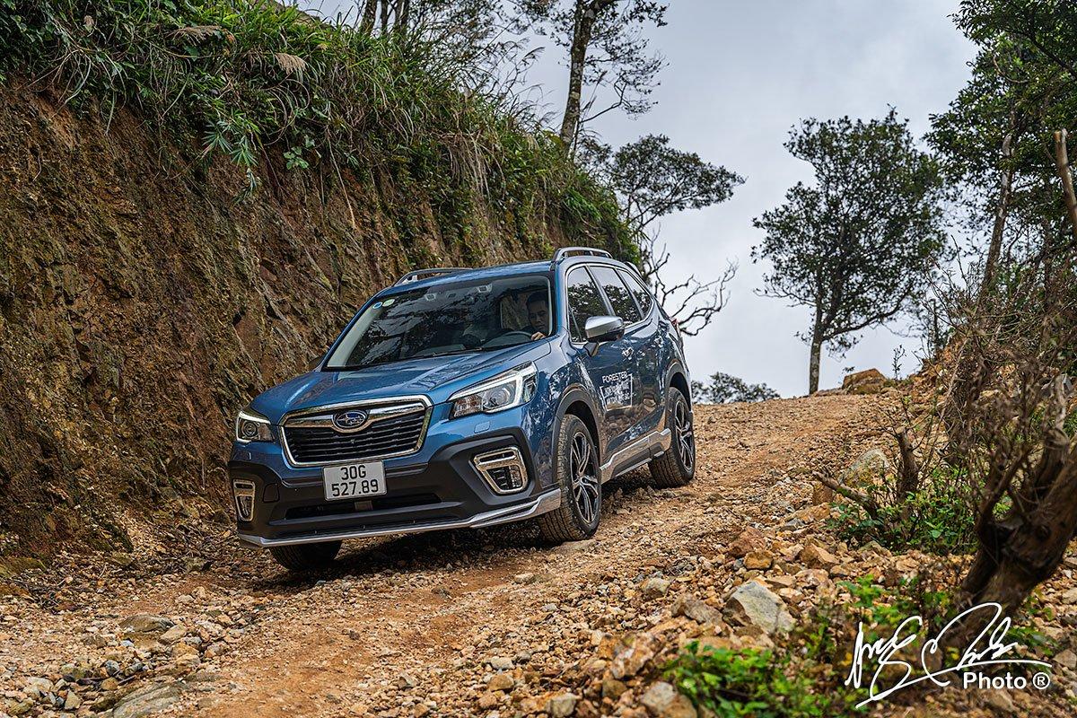 Subaru Forester 2021 có khả năng Offroad đáng nể.