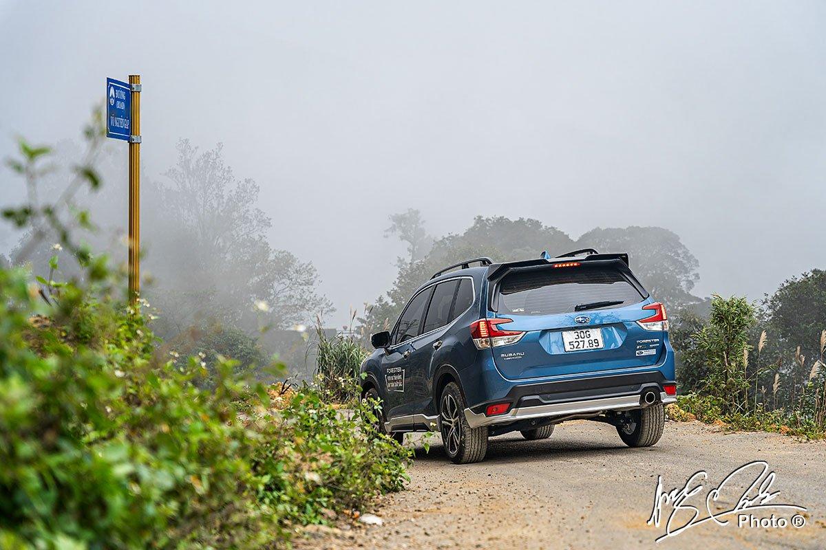 Thiết kế đuôi xe Subaru Forester 2021.