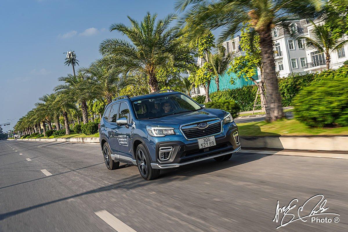 Hộp số CVT trên Subaru Forester 2021.