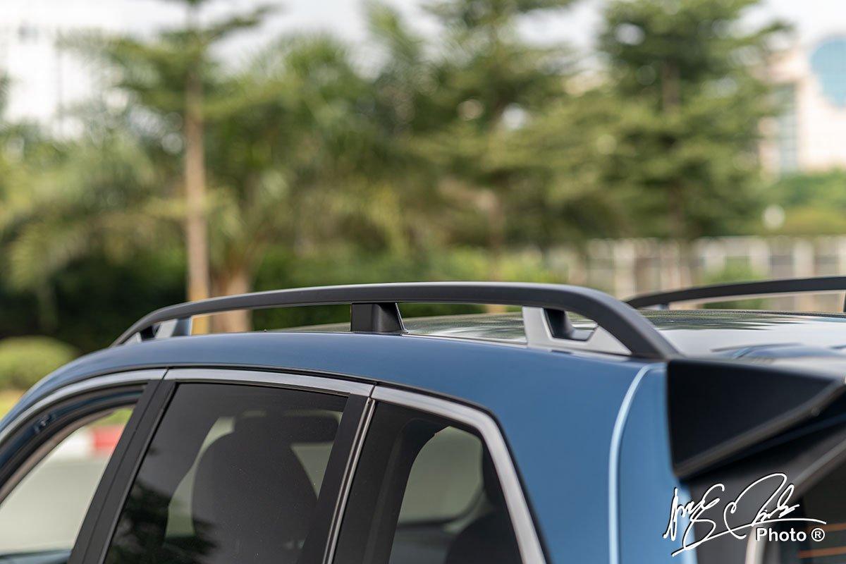 Giá nóc của Subaru Forester 2021.