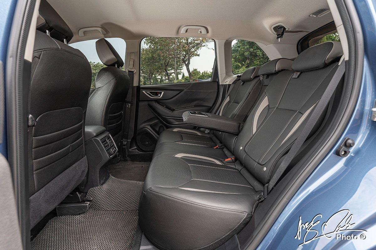 Ghế sau của Subaru Forester 2021 1.