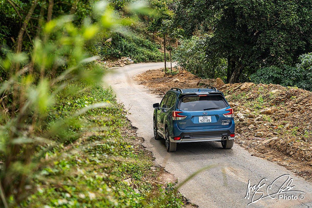 đánh giá xe Subaru Forester 2021 1.