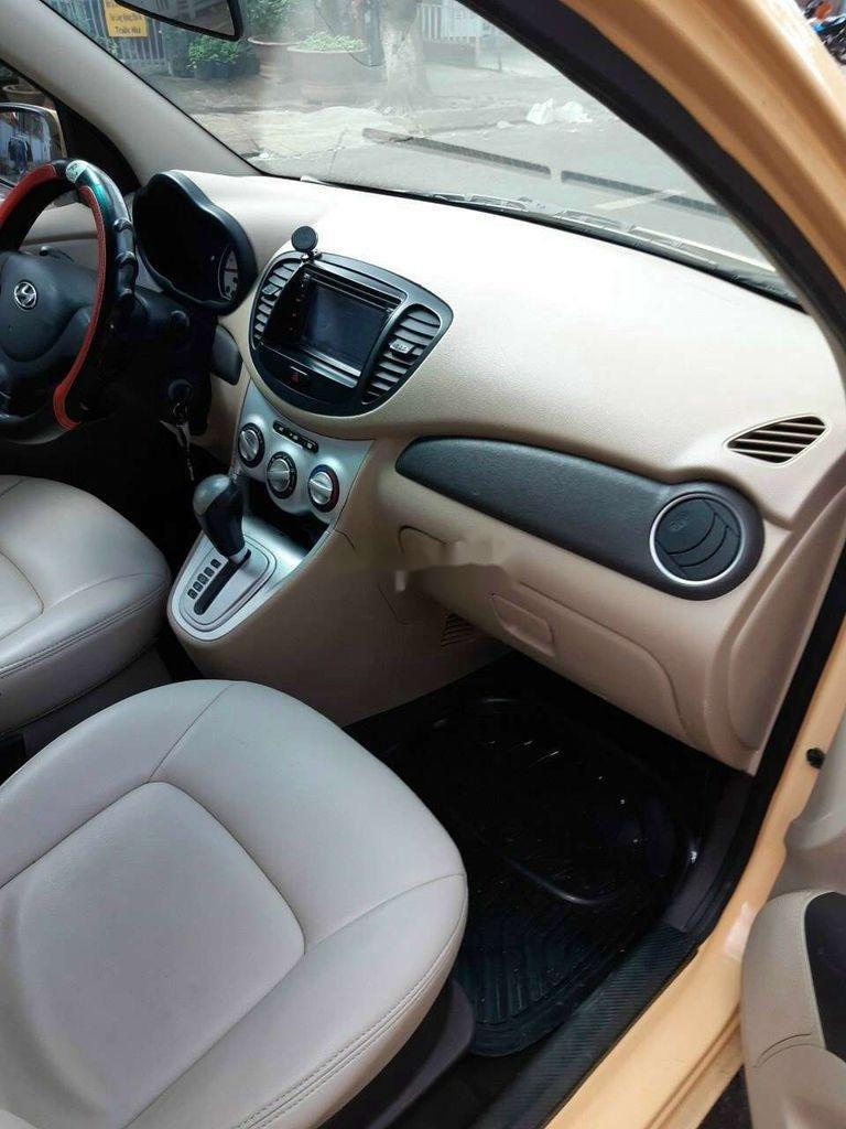 Bán Hyundai Grand i10 sản xuất năm 2010, màu vàng, nhập khẩu (3)