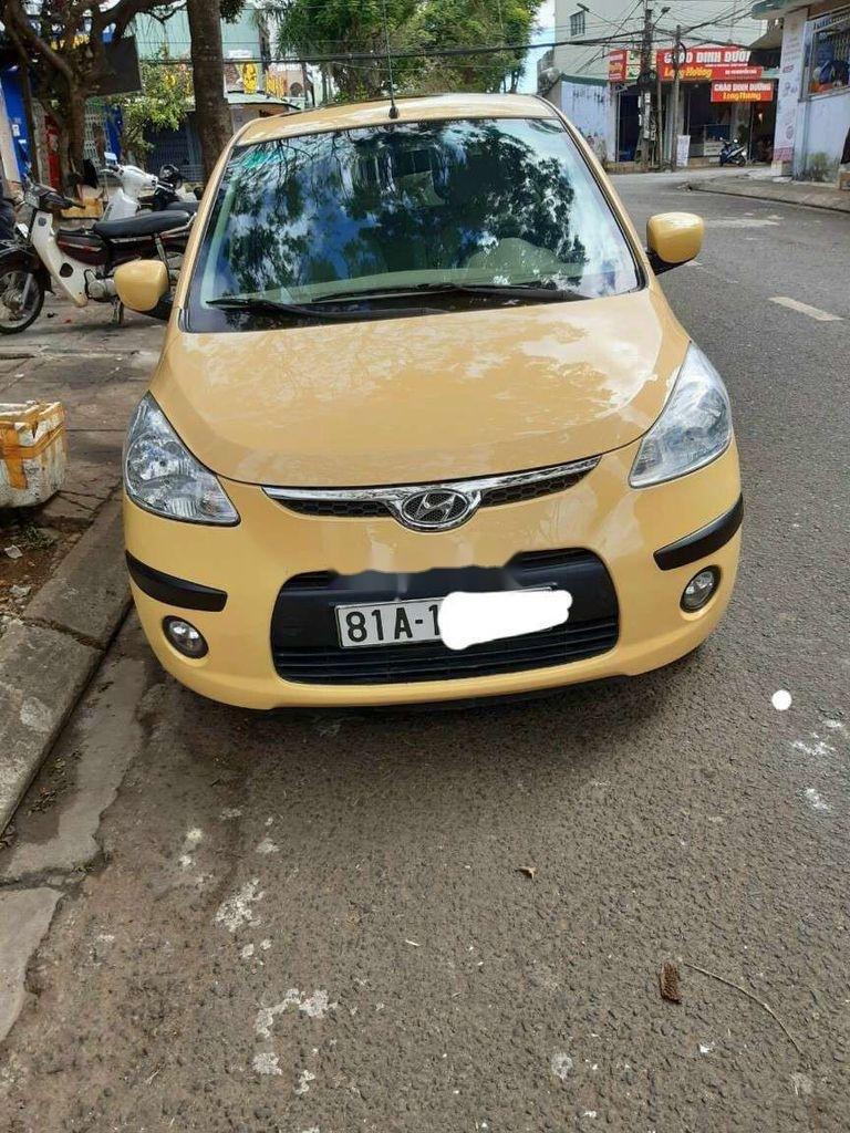Bán Hyundai Grand i10 sản xuất năm 2010, màu vàng, nhập khẩu (1)