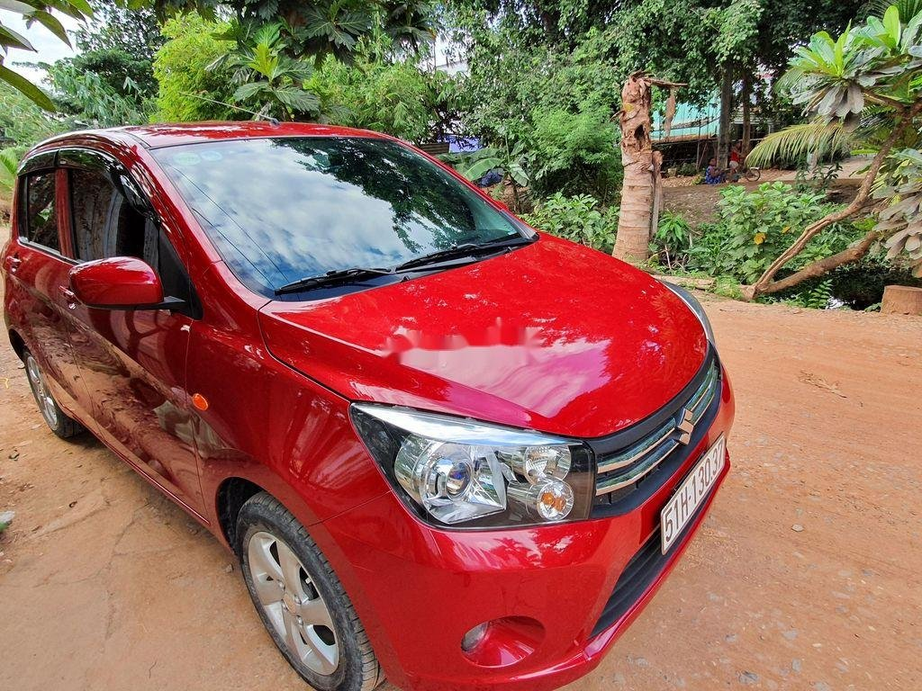 Bán xe Suzuki Celerio 2019, màu đỏ, nhập khẩu (1)