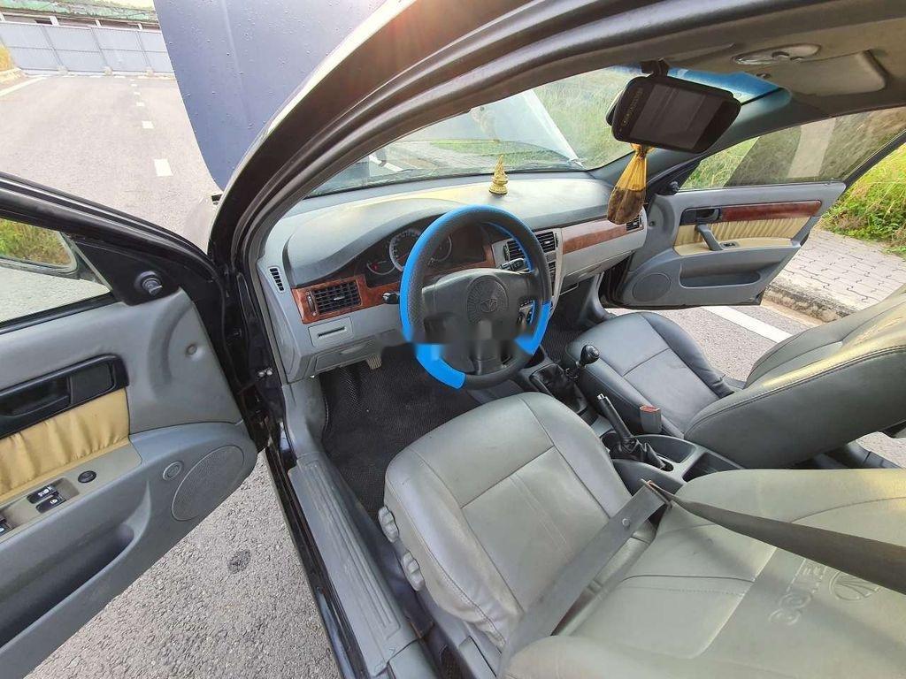 Cần bán lại xe Daewoo Lacetti sản xuất năm 2008, màu đen (4)