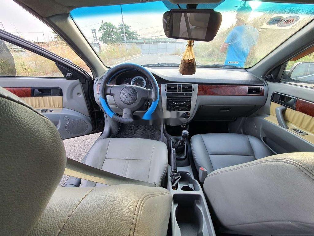 Cần bán lại xe Daewoo Lacetti sản xuất năm 2008, màu đen (5)