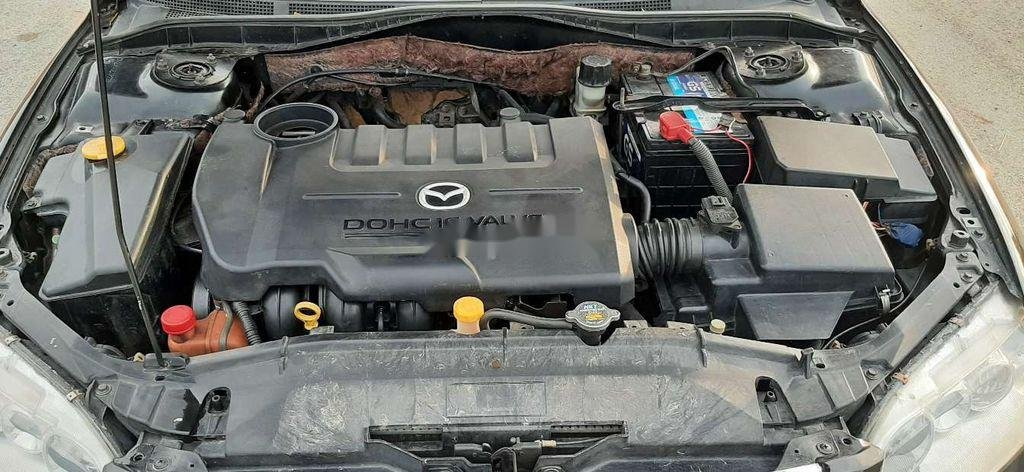 Bán Mazda 6 đời 2003, màu đen, xe nhập  (11)