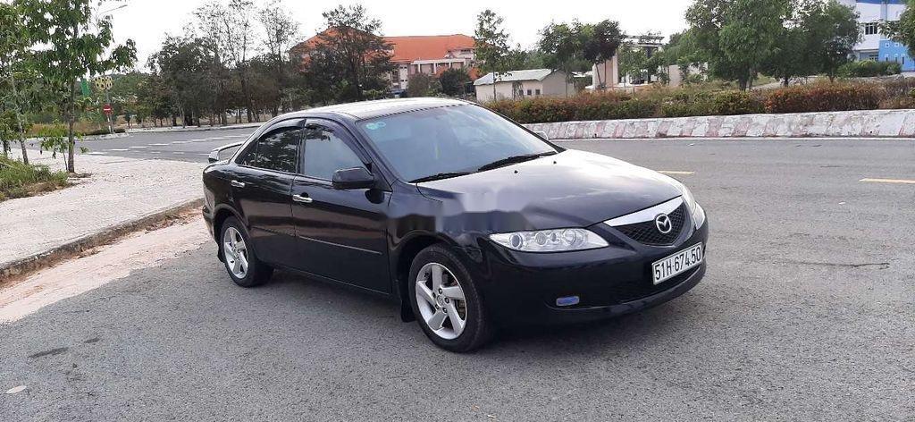 Bán Mazda 6 đời 2003, màu đen, xe nhập  (1)