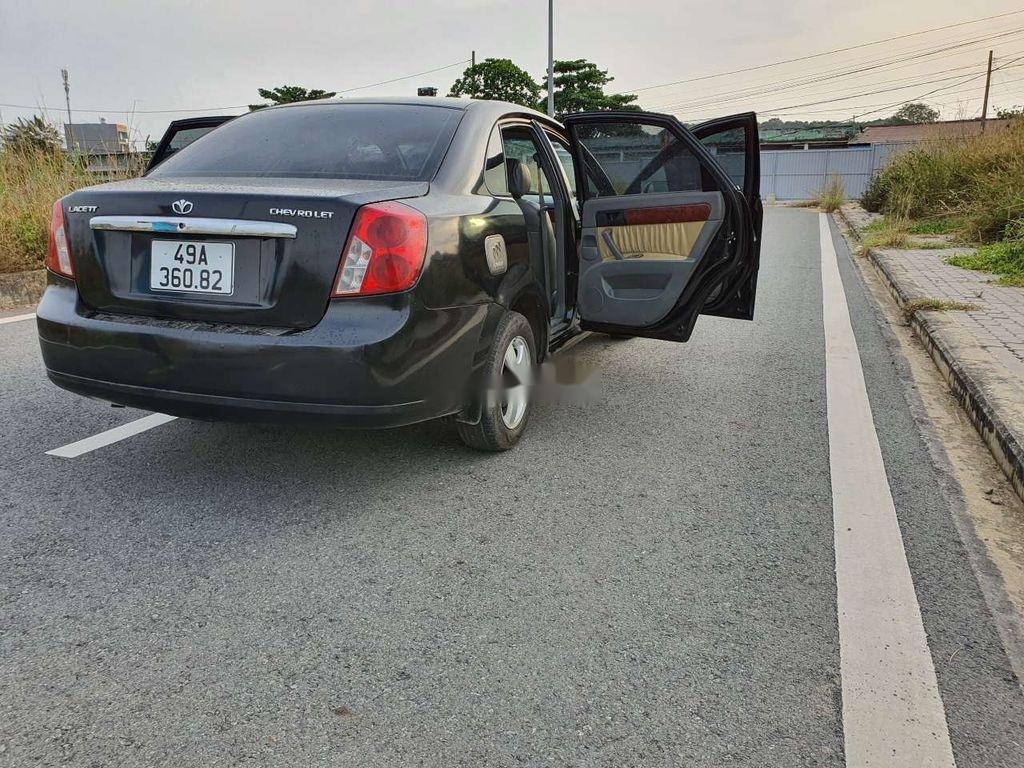 Cần bán lại xe Daewoo Lacetti sản xuất năm 2008, màu đen (3)